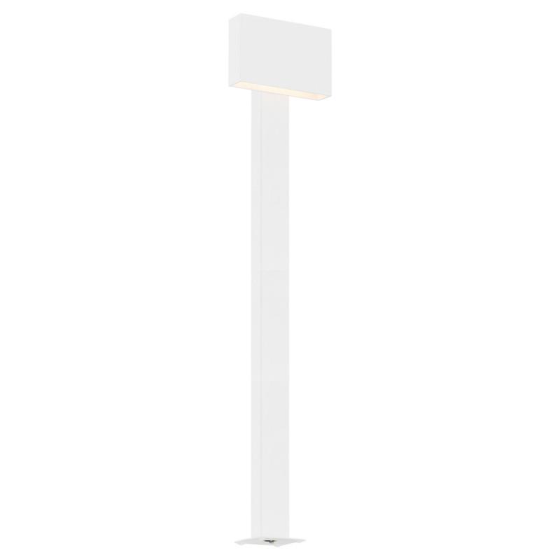 Outdoor standing lamp, garden lamp RIALTO high white Argon