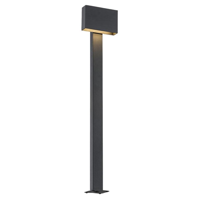 Outdoor standing lamp, garden lamp RIALTO high black Argon