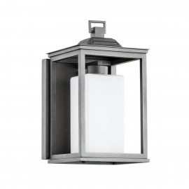 Outdoor garden wall lamp GASTON IP44 Argon