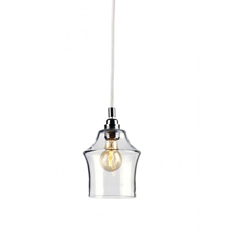 Longis II lampa wisząca (przewód biały)
