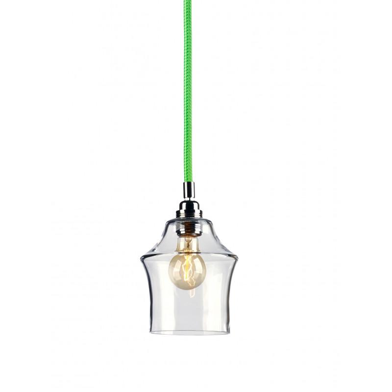 Longis II lampa wisząca (przewód zielony)