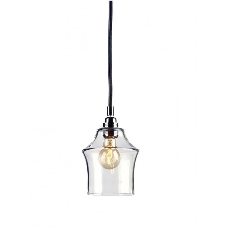 Longis II lampa wisząca (przewód czarny)