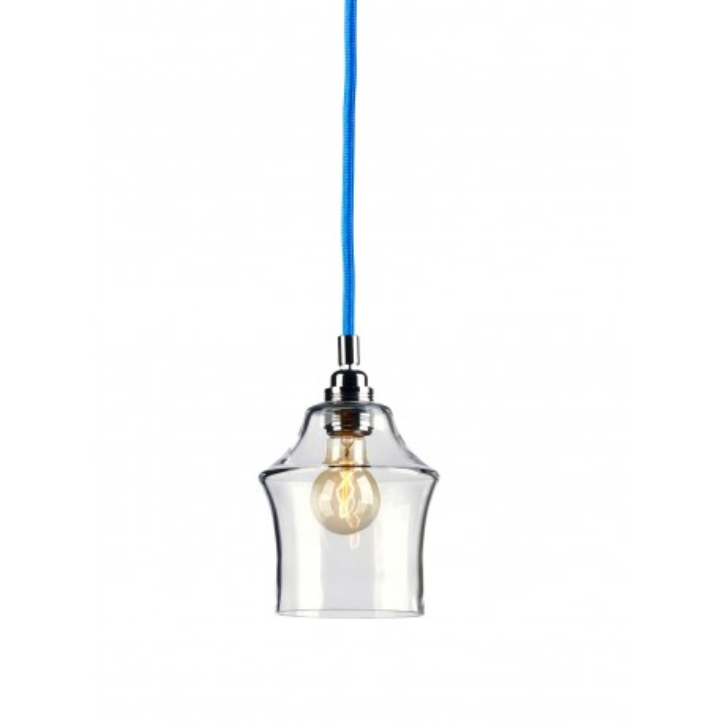 Longis II lampa wisząca (przewód niebieski)