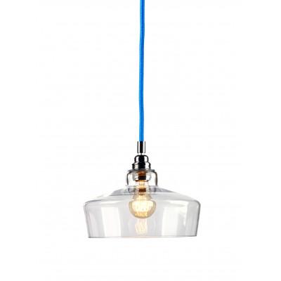 Longis III lampa wisząca (przewód niebieski)