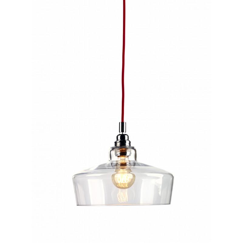 Longis III lampa wisząca (przewód czerwony)