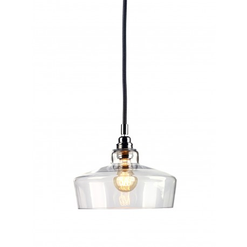 Longis III lampa wisząca (przewód czarny)