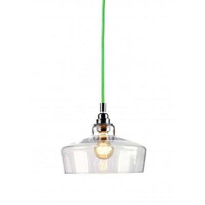 Longis III lampa wisząca (przewód zielony)