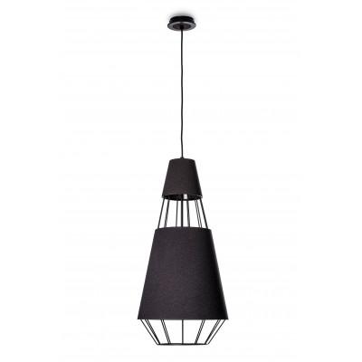 Ceiling pendant lamp GEMS ONYX Z-1 diameter of lampshade 35cm Kandela