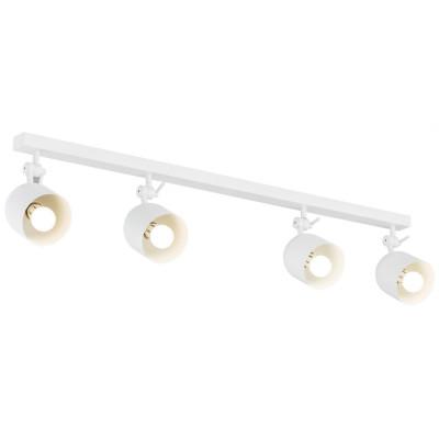 Lampa sufitowa / lampa ścienna / listwa reflektorów ALABAMA 4 biała ARGON