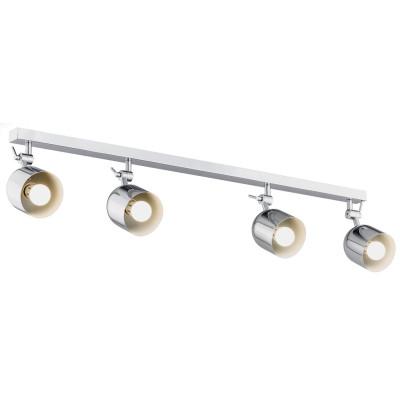 Lampa sufitowa / lampa ścienna / listwa reflektorów ALABAMA 4 chrom ARGON