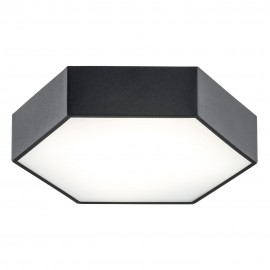 Large ceiling lamp / plafond ARIZONA 1 black ARGON