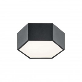 Small ceiling lamp / plafond ARIZONA 1 black ARGON