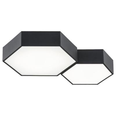 Lampa sufitowa / plafon ARIZONA 2 czarny ARGON