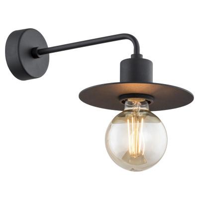 Lampa ścienna / kinkiet CORSO czarny ARGON