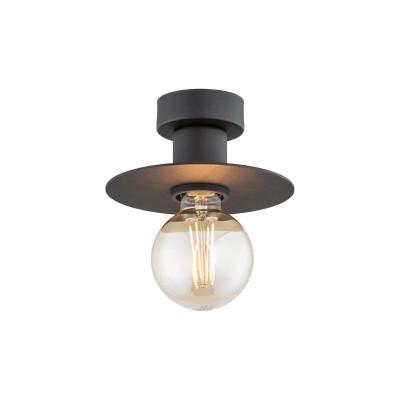 Ceiling lamp / plafond CORSO black ARGON