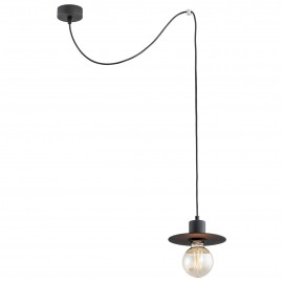 Ceiling lamp / pendant lamp CORSO black ARGON