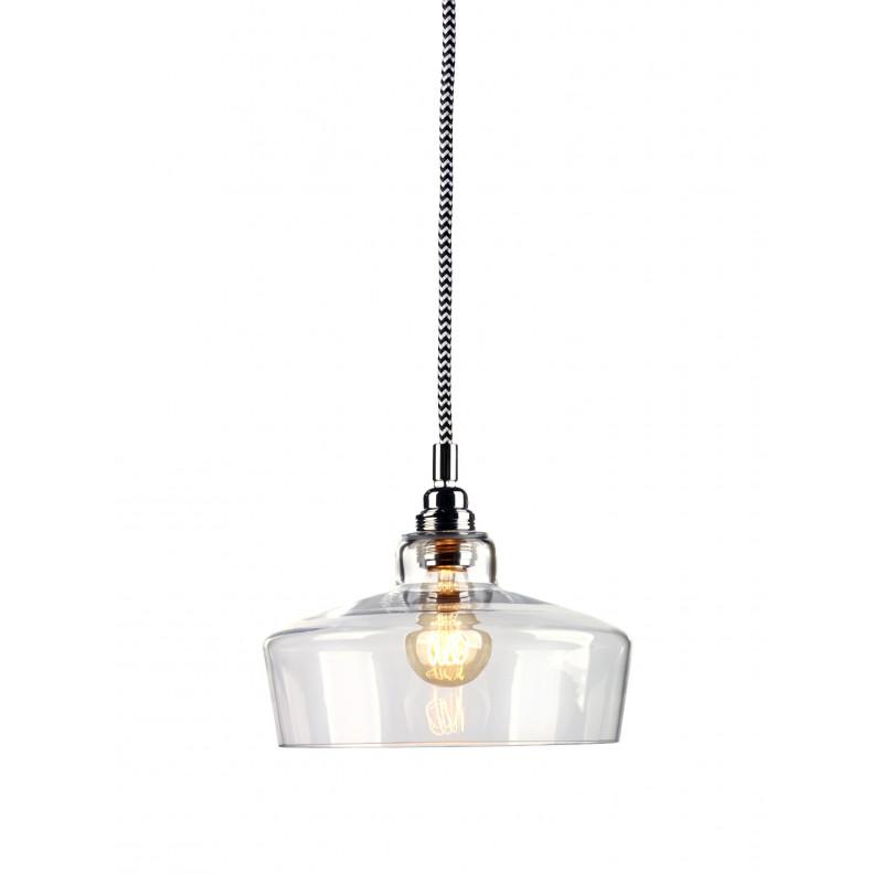 Longis III lampa wisząca (przewód biało-czarny)