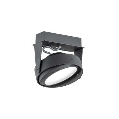 Lampa sufitowa / lampa ścienna / reflektor KANSAS 1 czarny ARGON