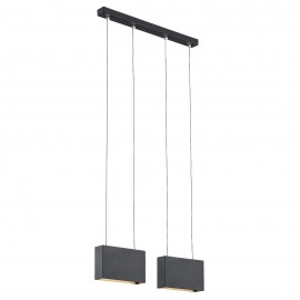 Ceiling lamp / hanging lamp NEVADA 1 black ARGON