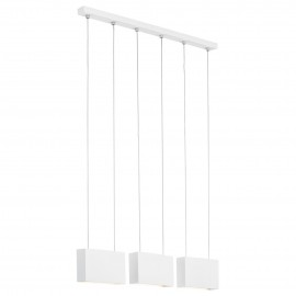 Ceiling lamp / hanging lamp NEVADA 3 white ARGON