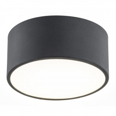 Duża lampa sufitowa / plafon VICHY 1 czarny ARGON