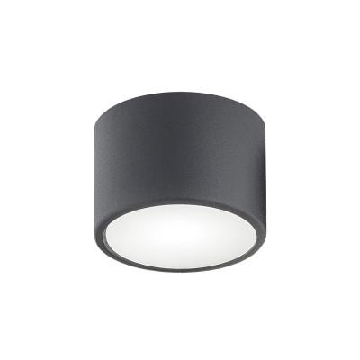 Small ceiling lamp / plafond VICHY 1 black ARGON