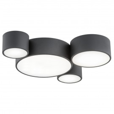 Ceiling lamp / plafond VICHY 4 black ARGON