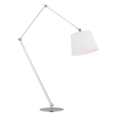 Floor lamp, standing lamp ZAKYNTOS BIS white ARGON