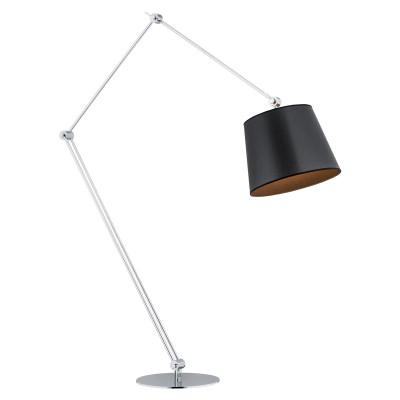 Lampa podłogowa, lampa stojąca ZAKYNTOS BIS czarna ARGON