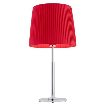 Lampa na stolik, lampka nocna ASTI czerwona ARGON