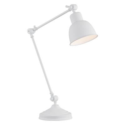 Lampa na stolik, lampka nocna EUFRAT biała ARGON