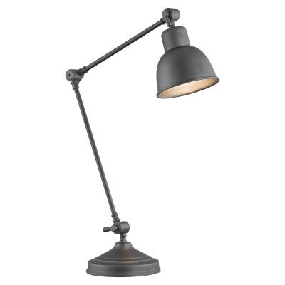 Lampa na stolik, lampka nocna antracytowa EUFRAT ARGON