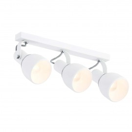 Ceiling lamp / wall lamp / reflector triple white FOGO ARGON