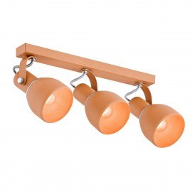 Ceiling lamp / wall lamp / reflector triple orange FOGO ARGON