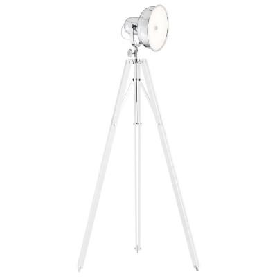 Lampa podłogowa, lampa stojąca FOTO NEW biała podstawa ARGON