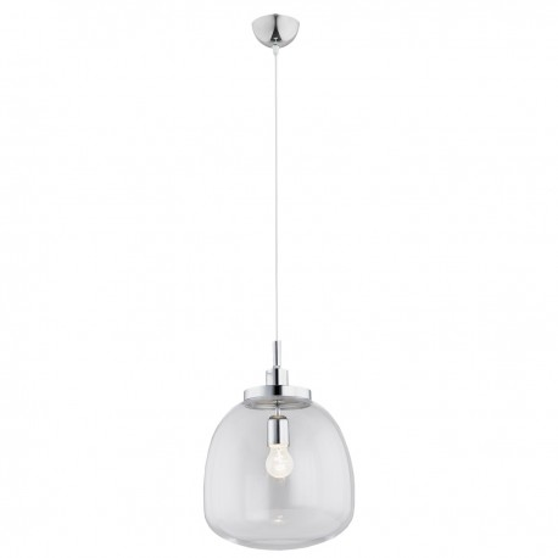 Ceiling lamp / pendant lamp transparent cord white OPAWA ARGON