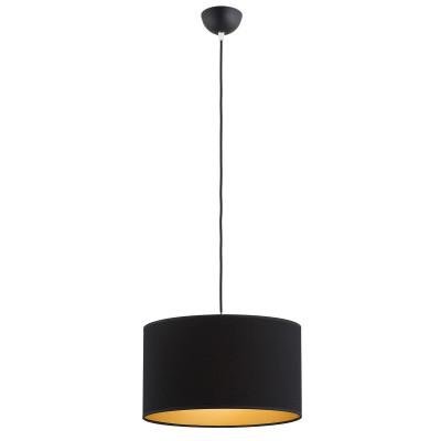 Ceiling lamp / hanging lamp SAVONA 1 black&gold ARGON