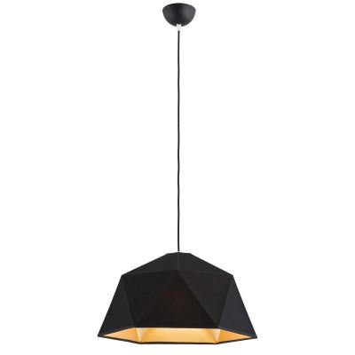 Ceiling lamp / hanging lamp SAVONA 2 black&gold ARGON