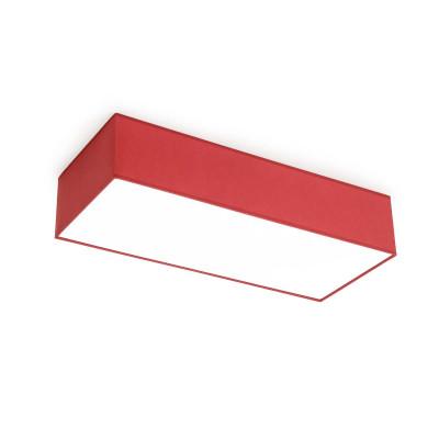 Plafon VIENNA P-2 czerwony 390