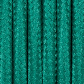 Round electric cable covered by polyester 19 forest fern 2x0.75