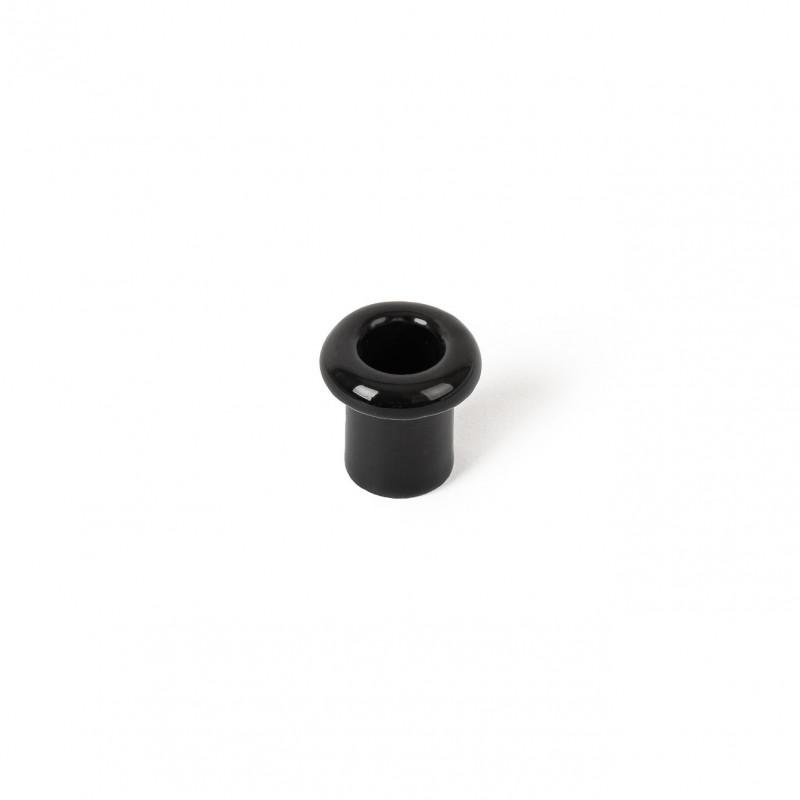 Rustic ceramic retro culvert - black Kolorowe Kable