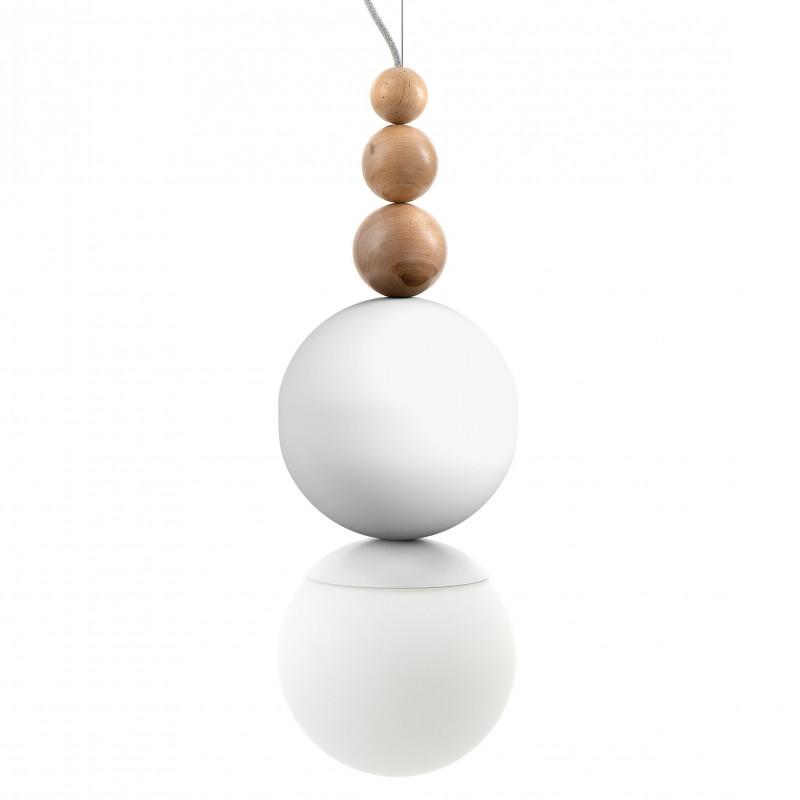 Loft Bala Mega white structural pendant lamp