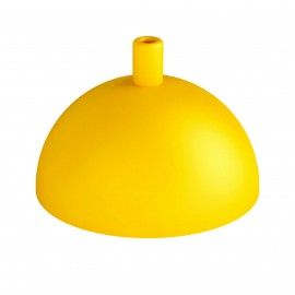 Hemisphere metal ceiling cover - yellow structural