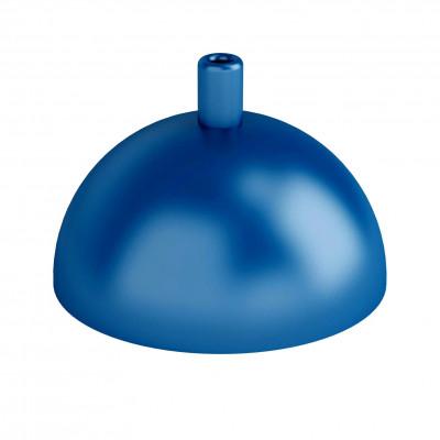 Metalowa osłonka sufitowa półkula - ciemnoniebieska strukturalna Kolorowe Kable