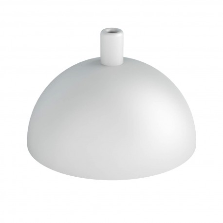 Hemisphere metal ceiling cover - light grey structural