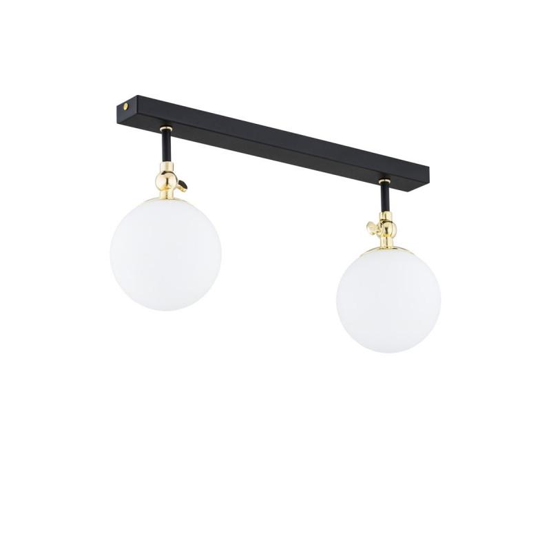 Ceiling lamp / plafond LATINA 846 black ARGON