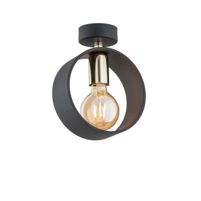 Black ceiling lamp / plafond AMADORA 4069 ARGON