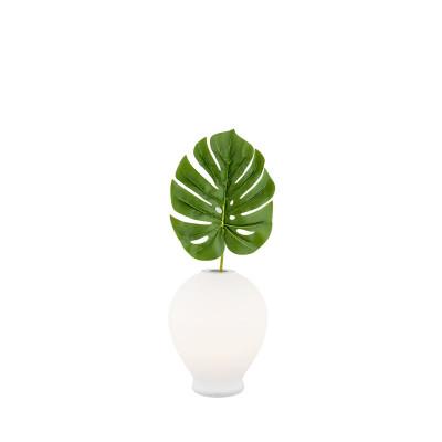 Lampa na stolik / lampa wazon AMARYLIS biała ARGON