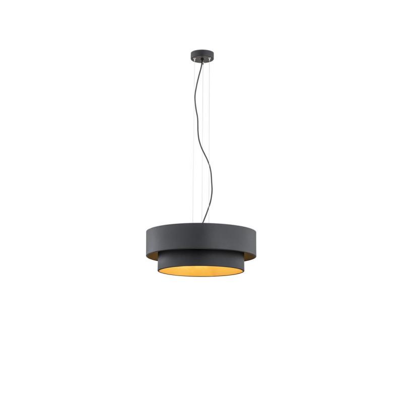 Black ceiling lamp FOXY 1411 ARGON