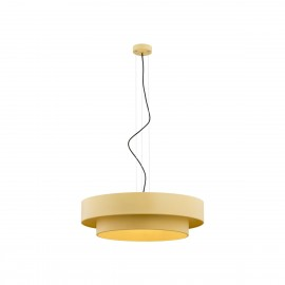 Duża lampa sufitowa, lampa wisząca złota FOXY 1423 ARGON